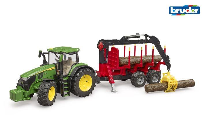 BRUDER AGRI TRATTJOHN DC-BENeTRON    03054