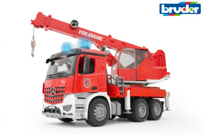 BRUDER EMERG POMPIERI AUTOGRU L-S    03675