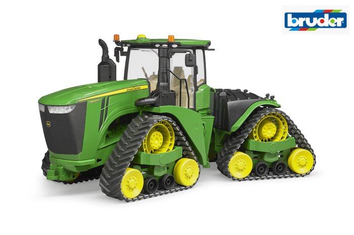 BRUDER AGRI JDEERE 9620RX CINGOLI    04055