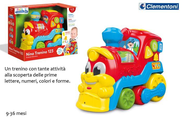 CLEM BABY NINO IL TRENINO 123    14970
