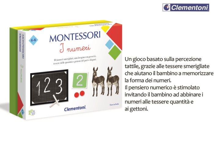 CLEM MONTESSORI I NUMERI    16099