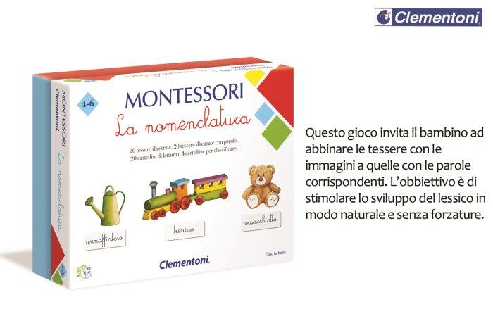 CLEM MONTESSORI LA NOMENCLATURA    16101