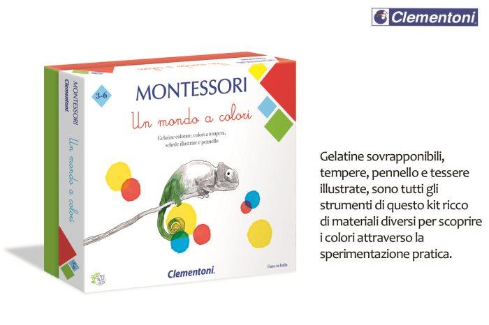 CLEM MONTESSORI UN MONDO A COLORI    16136