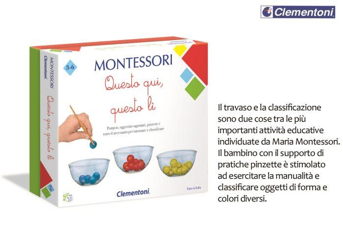 CLEM MONTESSORI QUESTO QUI QUELLO L    16137
